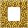 FEDE BELLE EPOQUE TAPESTRY РАМКА 1-АЯ GOLD-BRIGHT GOLD - FD01441DGOB