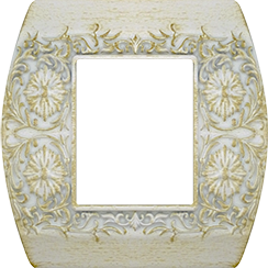 FEDE SAN REMO РАМКА 1-НАЯ, WHITE DECAPE - FD01421BD