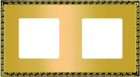 FEDE TOLEDO РАМКА 2-НАЯ, REAL GOLD - FD01212OR