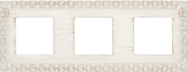 FEDE SAN SEBASTIAN PROVENCE РАМКА 3-НАЯ, WHITE DECAPE - FD01223BD
