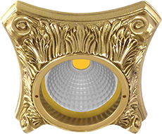 FEDE СВЕТИЛЬНИК PISA, BRIGHT GOLD - FD1010ROB