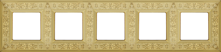 FEDE GRANADA РАМКА 5-НАЯ, BRIGHT GOLD - FD01415OB